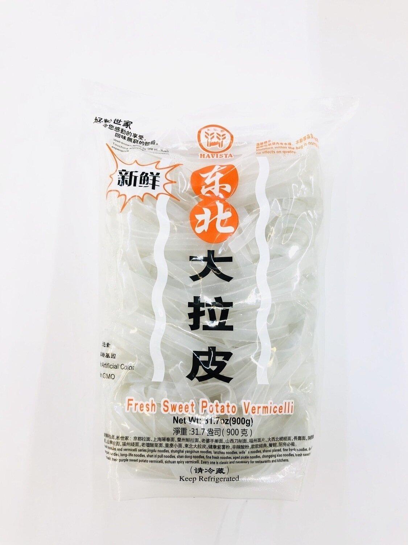 五谷丰东北大拉皮 HAVISTA Fresh Sweet Potato Vwemicelli ~31.7oz(900g)