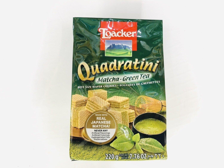 Loacker Matcha-Green Tea~220g(7.76OZ)