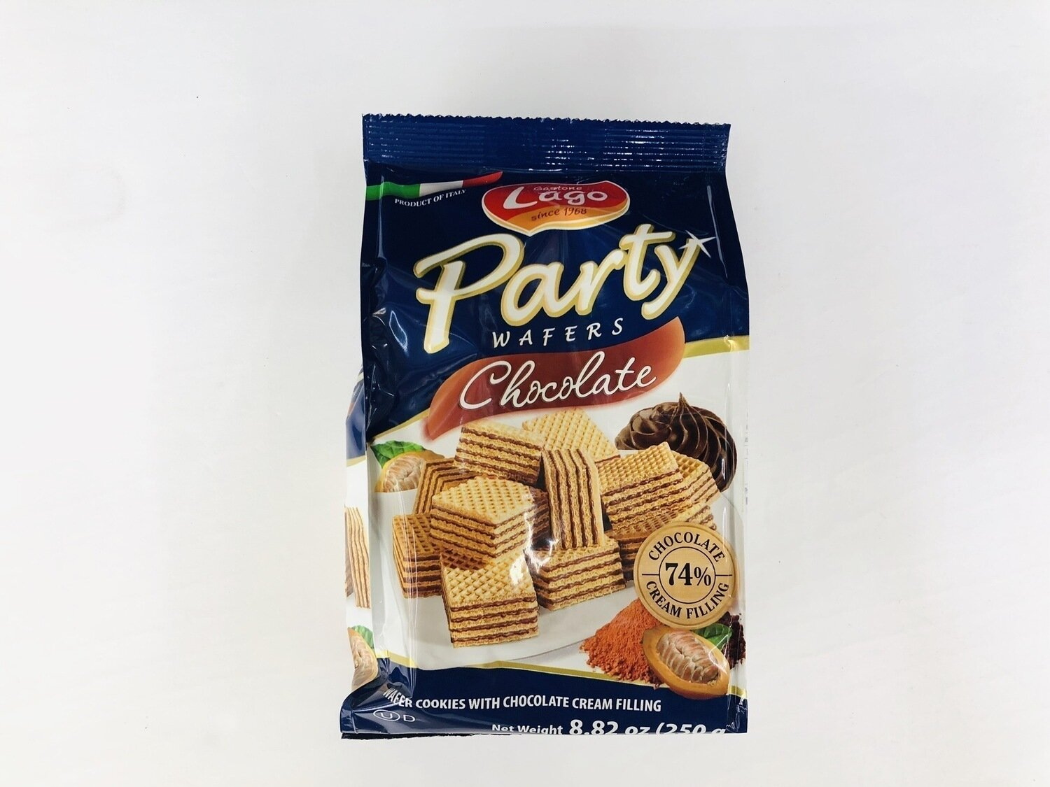 Lago Party Chocolate WAFERS~8.82oz(250g)