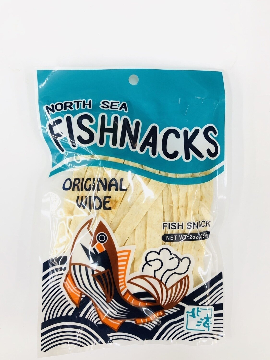 NORTH SEA FISHNACKS ORIGINAL WIDE~2oz(56.7g)