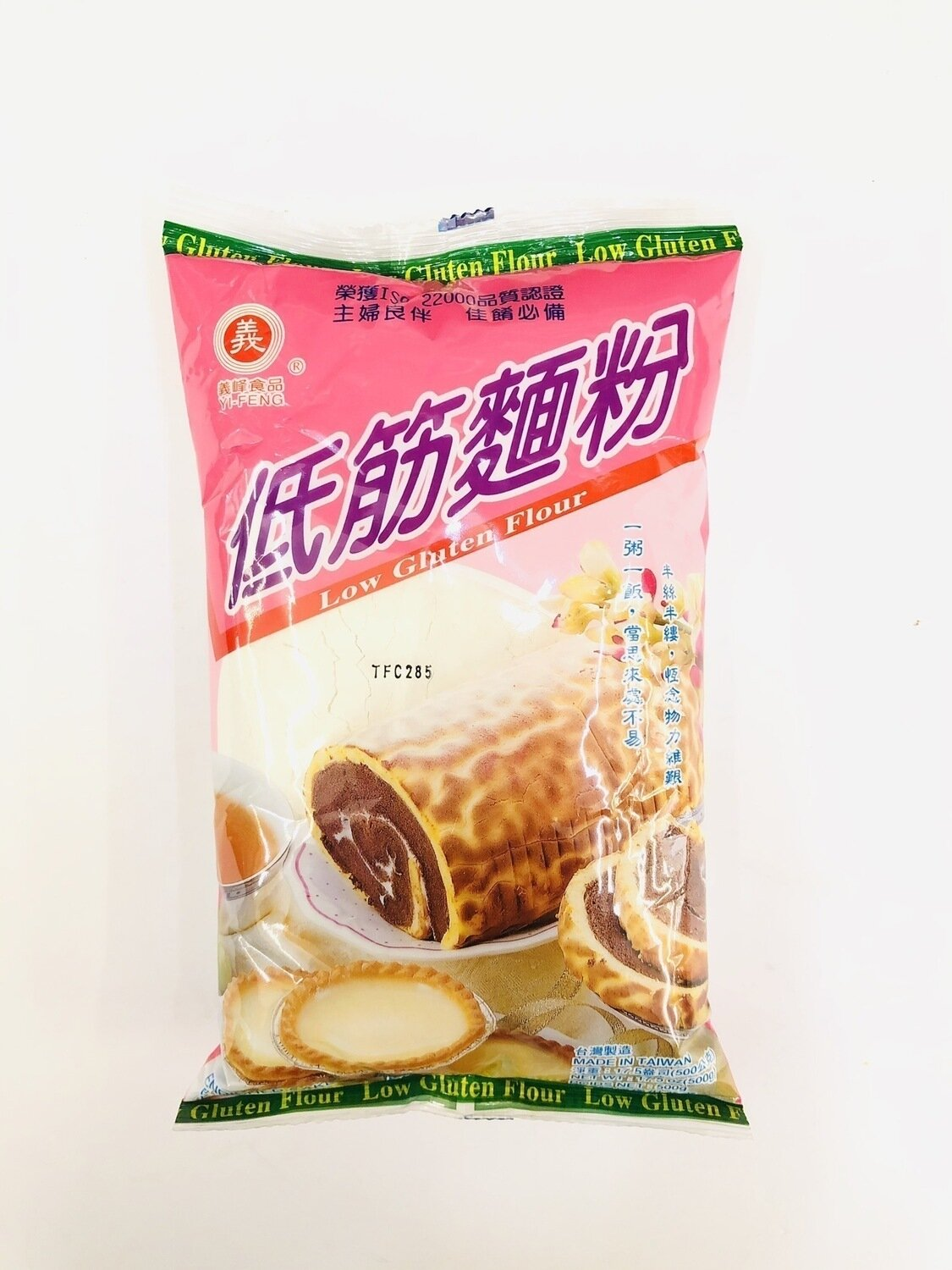 义峰食品低筋面粉 YI-FENG Low Gluten Flour~17.5oz