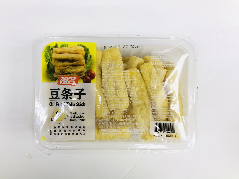祖名 豆条子 ZUMING Oil Fried Tofu Stick 5.64oz(160g)