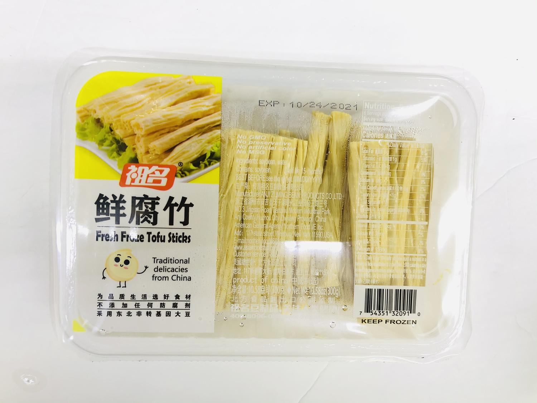 祖名 鲜腐竹 ZUMING Fresh Froze Tofu Sticks 10.58oz(300g)