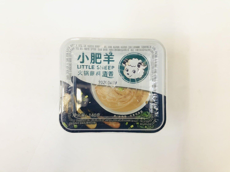 GROC【杂货】小肥羊火锅蘸料清香味~140g