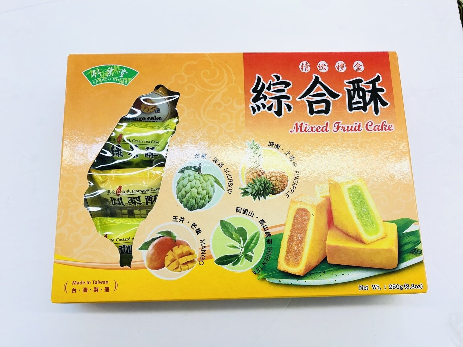 竹叶堂综合酥 BAMBOO HOUSE Mixed Fruit Cake~250g(8.8oz)
