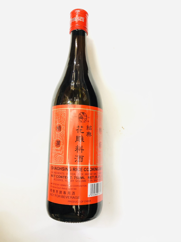 GROC【杂货】钱湖 绍兴花雕料酒 750ML