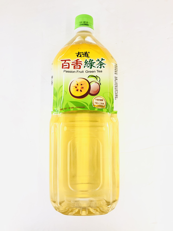 GROC【杂货】古道 百香绿茶 67.6FL.OZ/2000ML