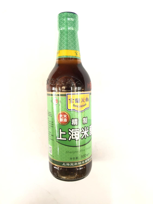 GROC【杂货】宝鼎天鱼 精制上海米醋 500ml