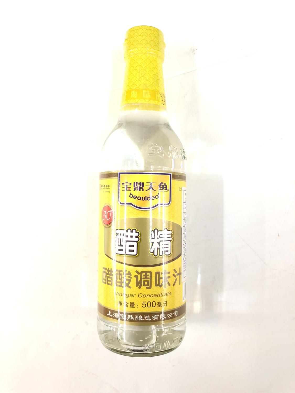 GROC【杂货】宝鼎天鱼 30°醋精 醋酸调味汁 500ml
