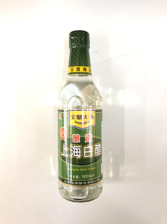 GROC【杂货】宝鼎天鱼 6°酿造上海白醋 500ml