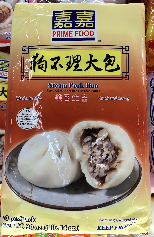嘉嘉狗不理大包 Steam pork Bun ~1lb.14oz