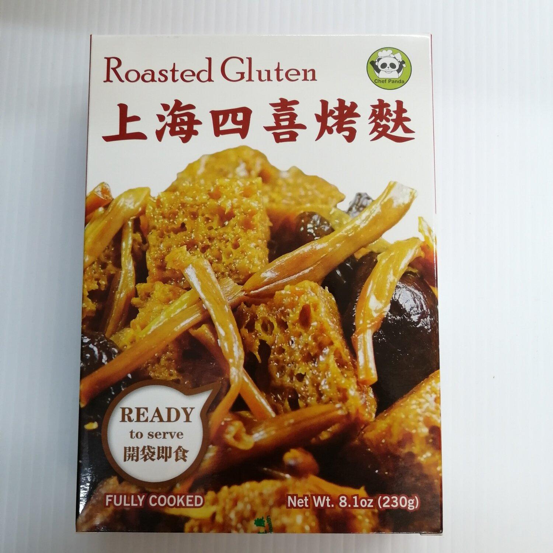 上海四喜烤麸(开袋即食) Chef Panda Roasted Gluten (READY to serve) 8.1oz(230g)