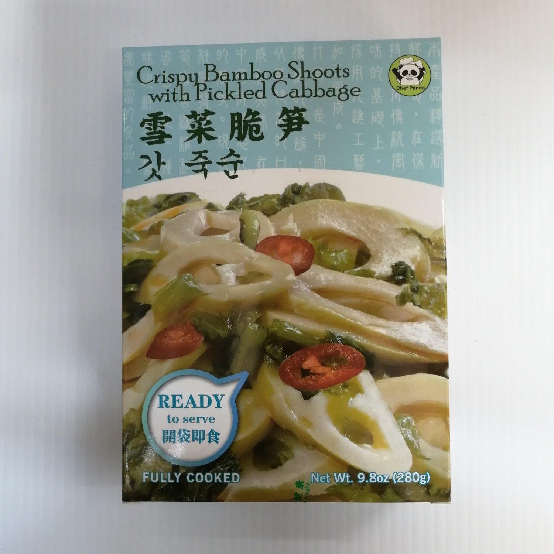 GROC【杂货】Chef Panda 雪菜脆笋(开袋即食) 9.8oz(280g)