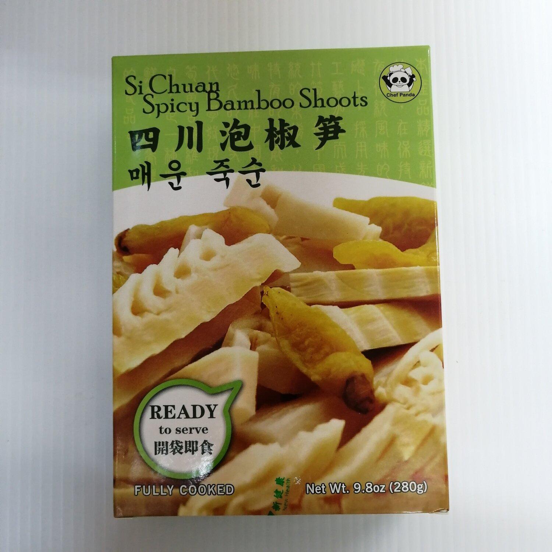 GROC【杂货】Chef Panda 四川泡椒笋(开袋即食) 9.8oz(280g)