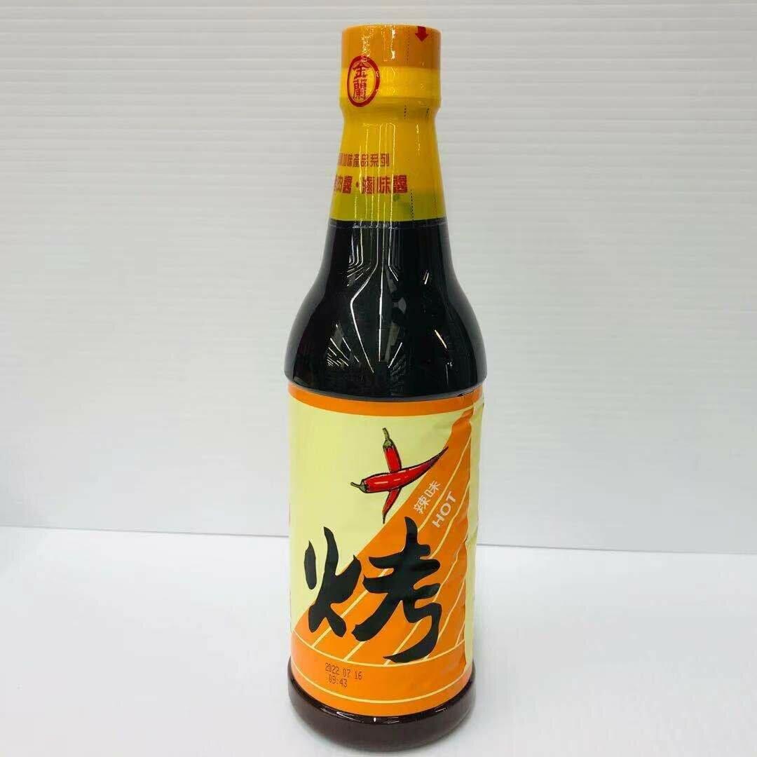 GROC【杂货】金兰 烤肉酱(辣味) 20FL OZ (590ML)