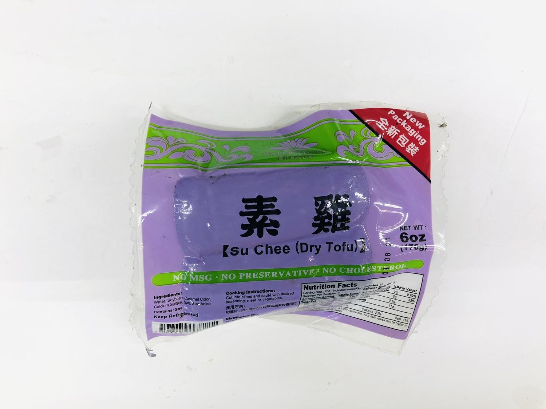 素鸡 Su Chee(Dry Tofu)6OZ(170g)