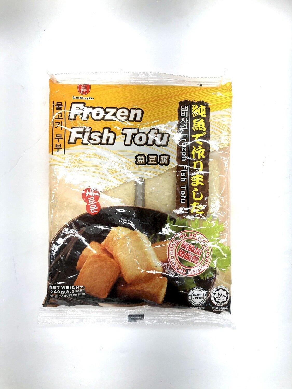 林生记鱼豆腐 Lam Sheng Kee Frozen Fish Tofu~240g(8.5oz)