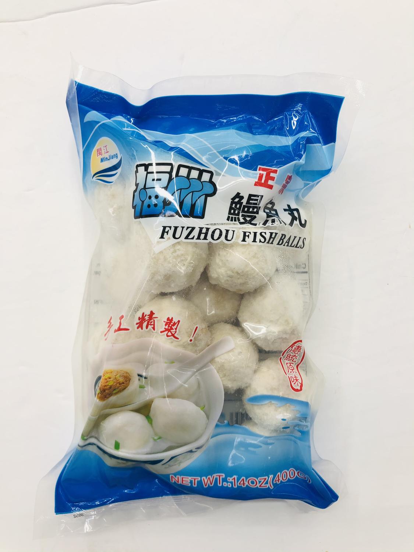 闽江 福州正宗鳗鱼丸 MinJiang FUZHOU FISH BALLS 14OZ(400G)