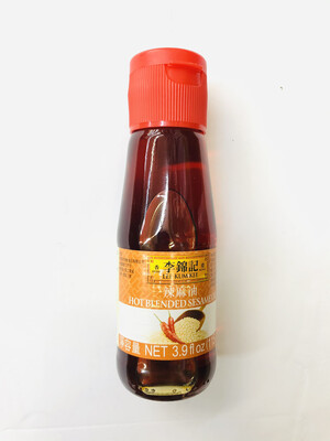 李锦记 辣麻油 LEE KUM KEE HOT BLENDED SESAME OIL 3.9 fl oz (115ml)