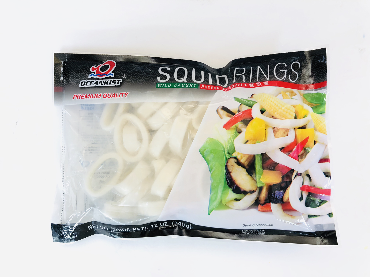 鱿鱼圈 OCEANKIST SQUIDRINGS 12OZ.(340g)