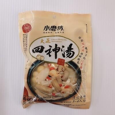 GROC【杂货】小磨坊 大正四神汤 90g(3.2oz)
