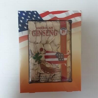 许 美国花旗参 (盒装 切片~113g(4oz) HSU'S AMERICAN GINSENG ~113g(4oz)
