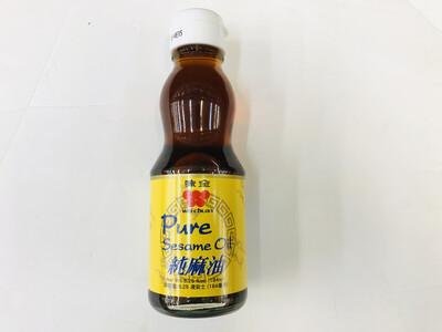 味全 纯麻油 WEI-CHUAN Pure Sesame Oil 6.25fl.oz.(184ml)