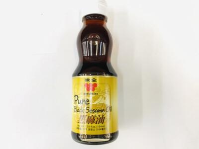 味全 黑麻油 WEI-CHUAN Pure Black Sesame Oil 6.25fl.oz.(184ml)