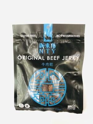 新东洋牛肉干 HTY ORIGINAL BEF JERKY~2.75OZ(78g)