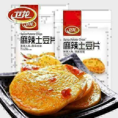 卫龙 麻辣土豆片 Spicy Potato Chips 200g