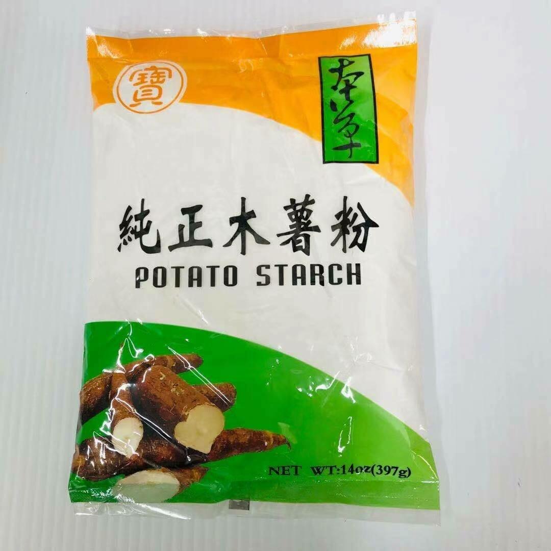 GROC【杂货】宝 本草 纯正木薯粉 14oz