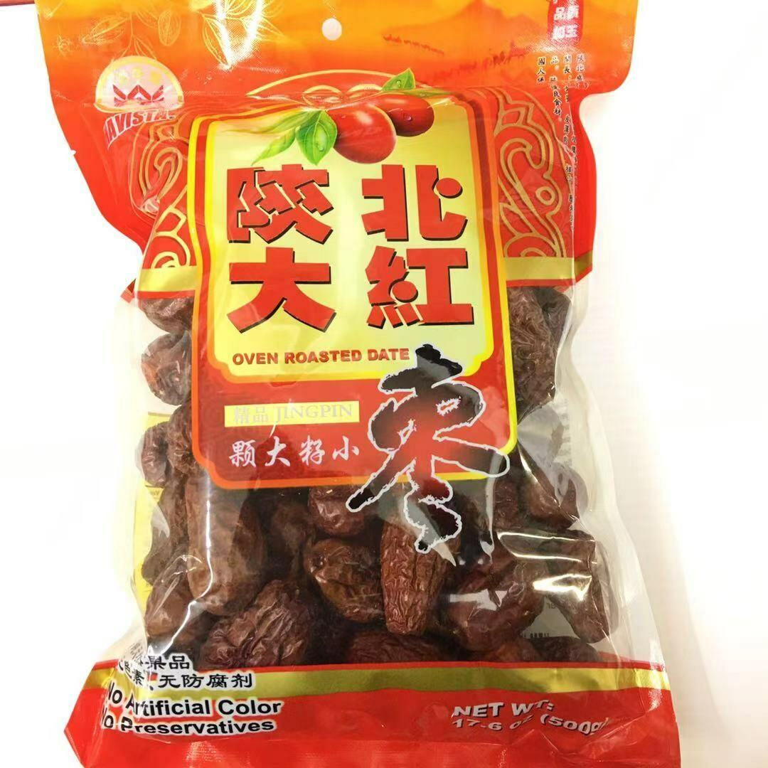 GROC【杂货】五谷丰 陕北大红枣 17.6oz(500g)