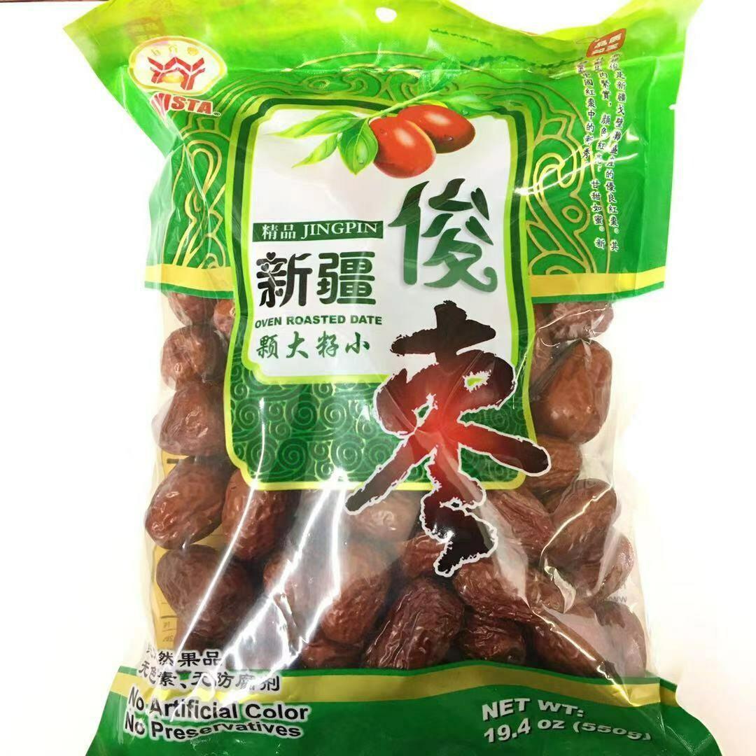 GROC【杂货】五谷丰 新疆俊枣 19.4oz(550g)