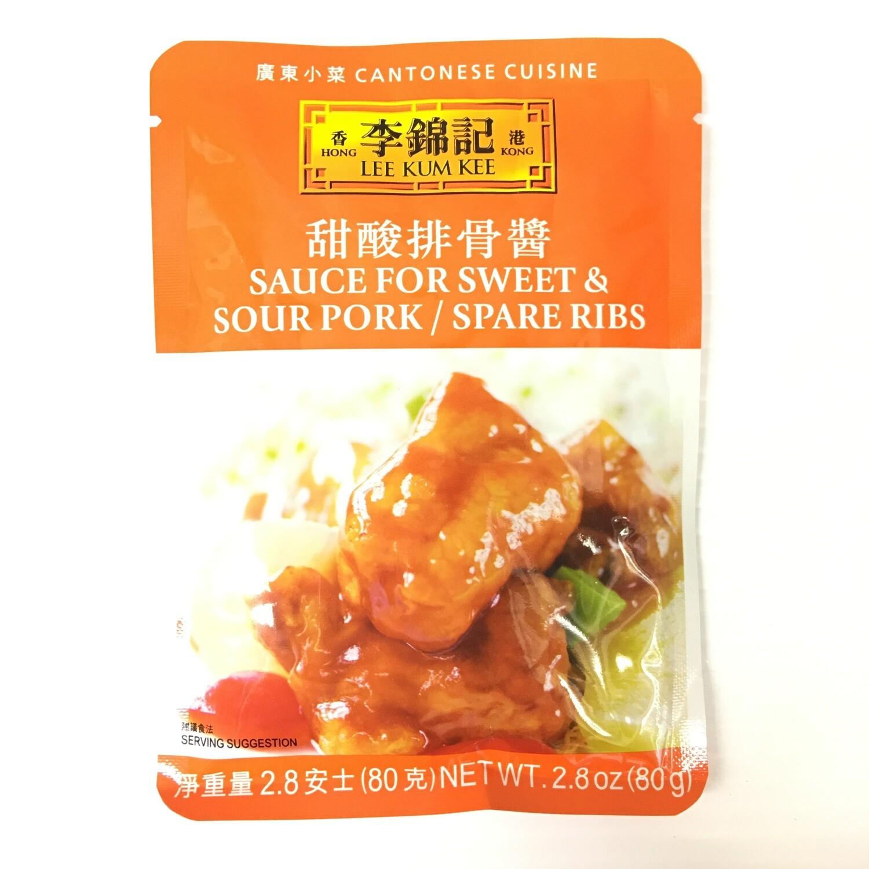 GROC【杂货】李锦记 甜酸排骨酱 80g
