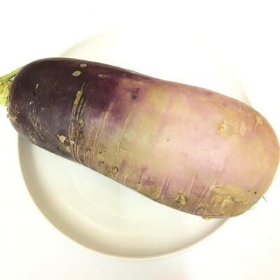 VEG【蔬菜】紫皮萝卜1份 ~约3lbs