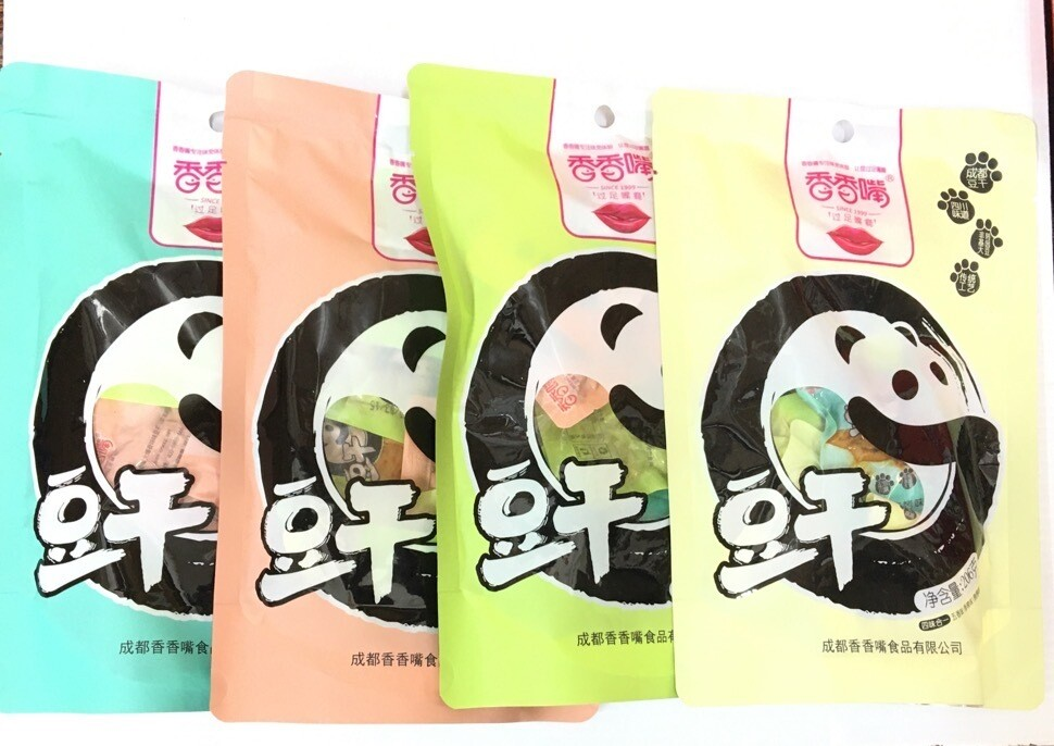 GROC【杂货】香香嘴 四味合一(五香/香辣/烧烤/泡椒) 206g