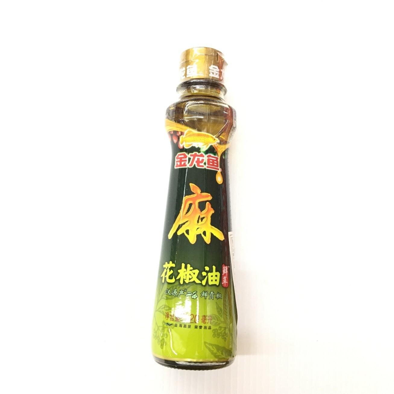 GROC【杂货】金龙鱼 麻 花椒油 220ml
