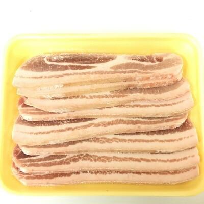 MEAT【肉类】厚切五花肉片 ~1.8lbs
