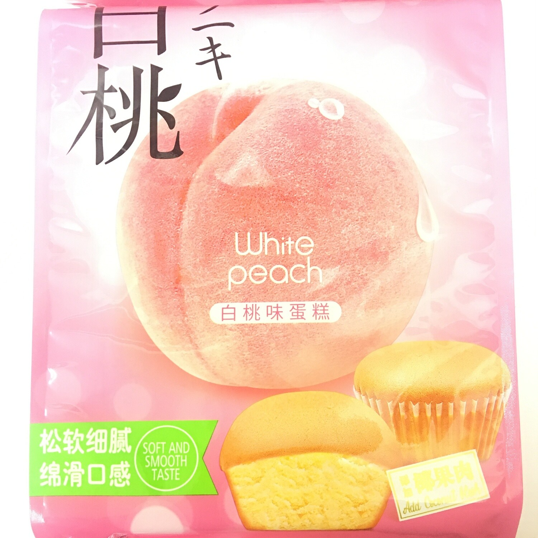 GROC【杂货】雅吻 白桃味蛋糕 180g