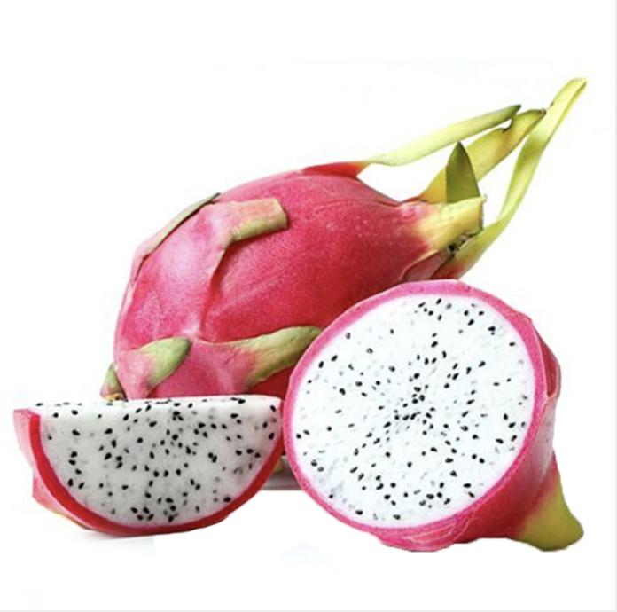 白肉火龙果 一个 White Dragon Fruit