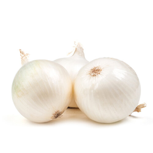 白洋葱 2pcs~1.8lbs White Onion USA/Mexico ~1.8lbs