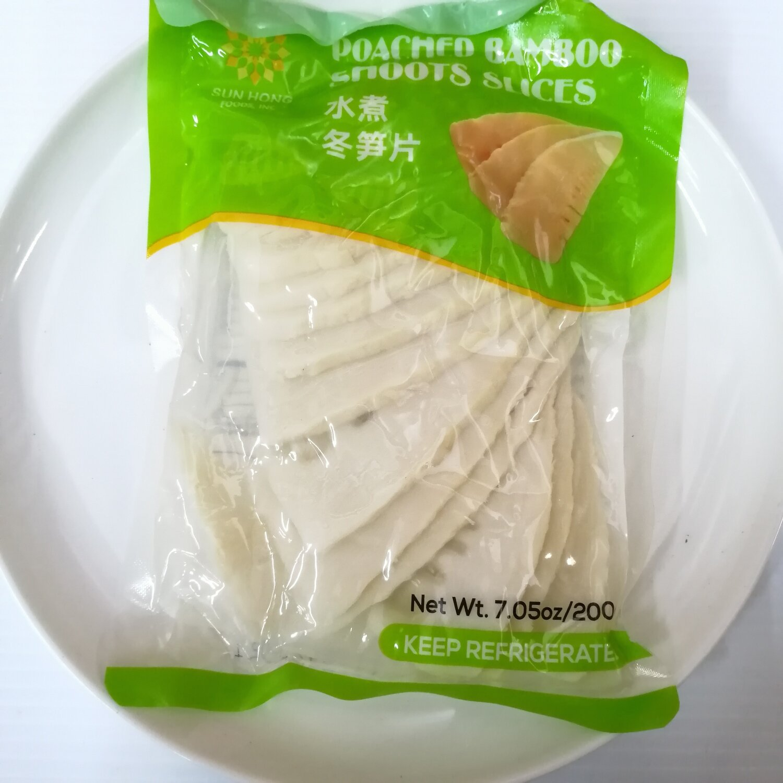 VEG【蔬菜】水煮冬笋片 200g