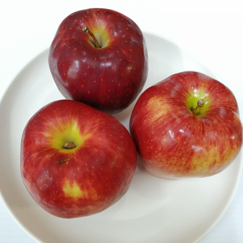 FRUI【水果】大红苹果3个 ~约2lbs