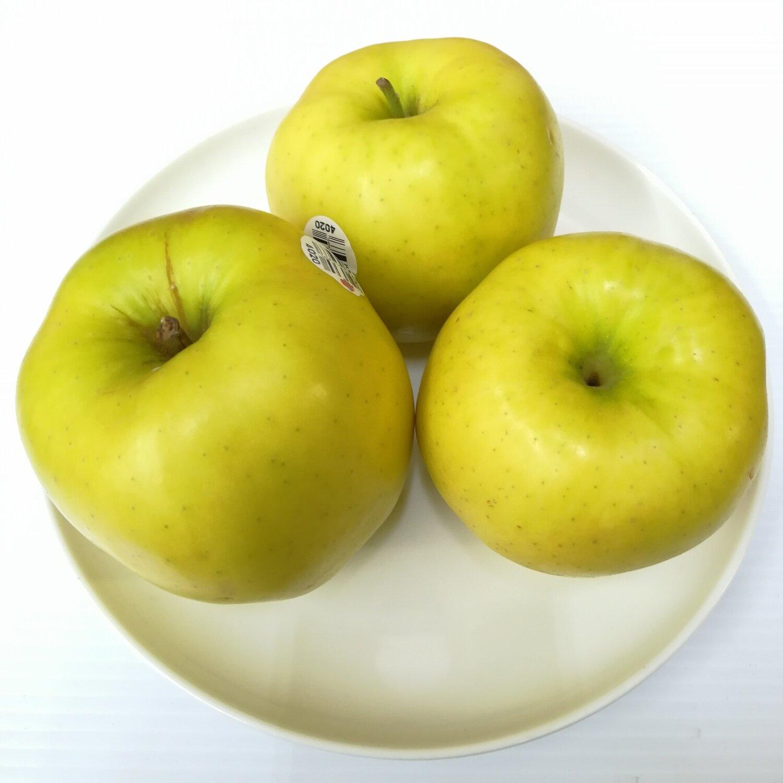 FRUI【水果】黄苹果3个 ~约2lbs