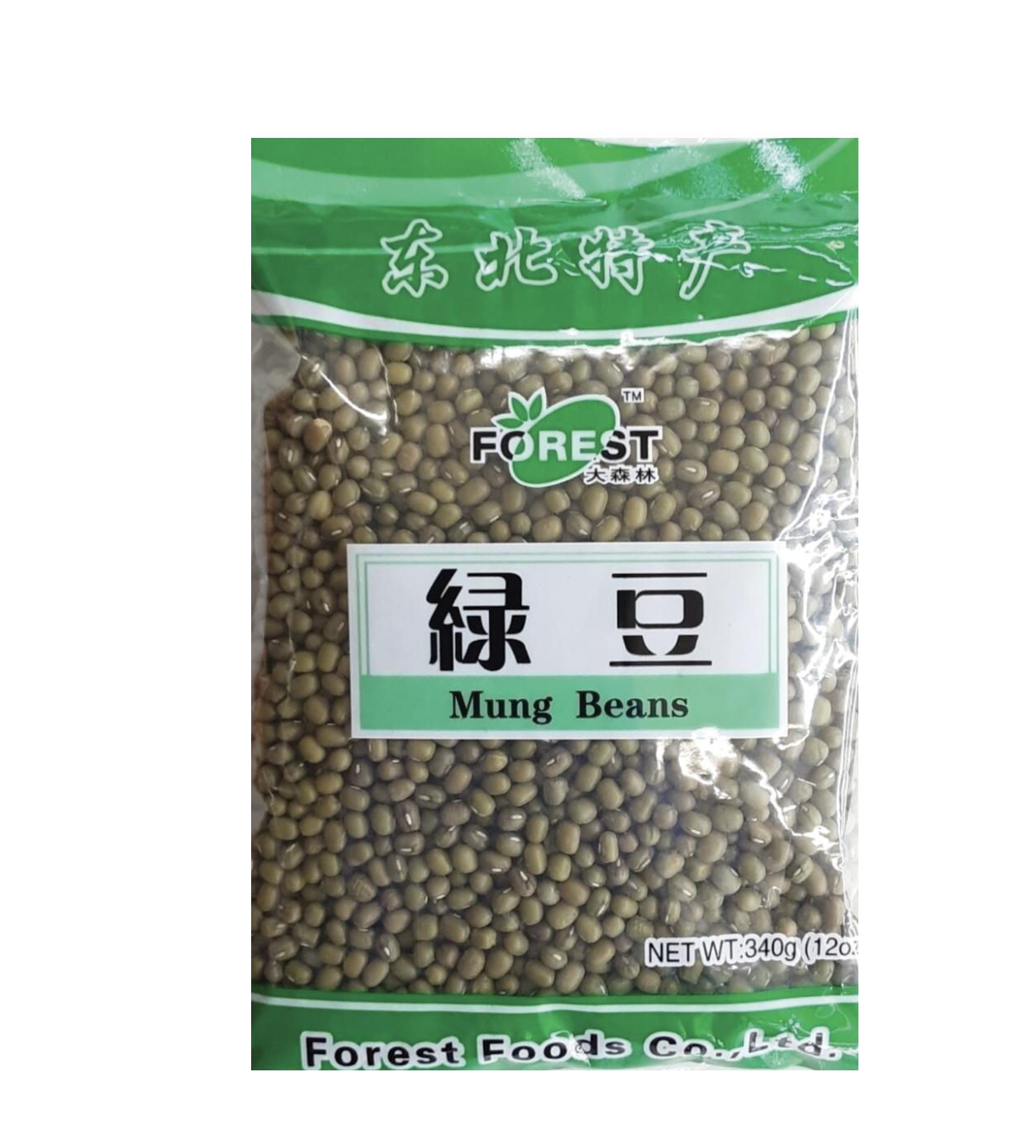 大森林 绿豆 Forest Mung Beans 340g (12 oz)