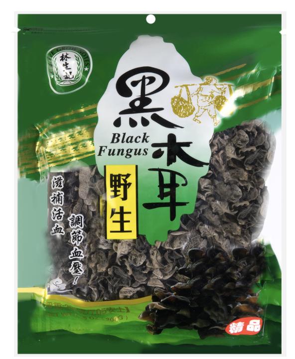林生记 野生黑木耳 Lam Sheng Kee Black Fungus 200g (7.05 oz)