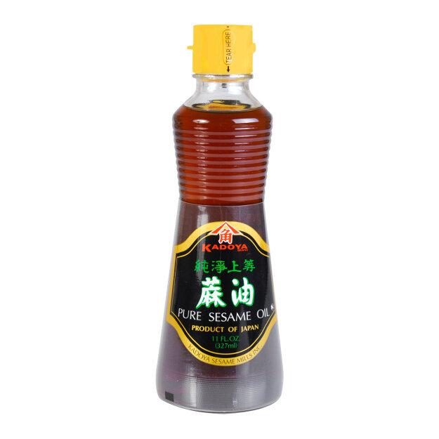 八角纯净上等麻油 KADOYA PURE SESAME OIL JAPAN 327 ML (11 FL)