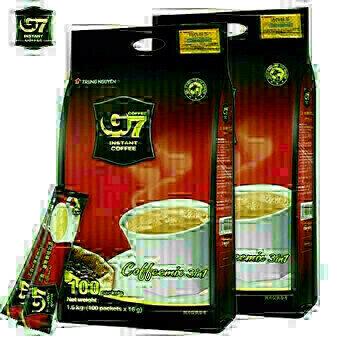 G7 咖啡 100小包 G7 Instant Coffee 3in1 100 sticks 16g