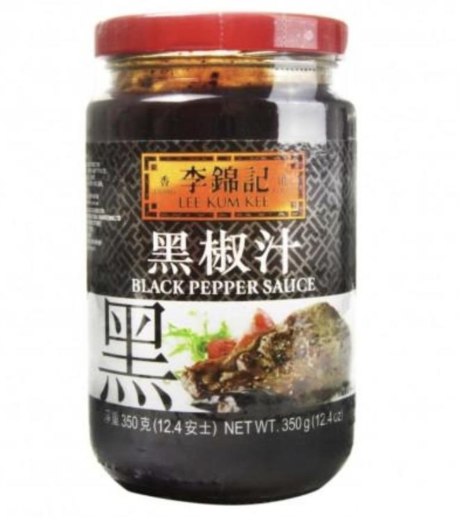 李锦记黑椒汁 LEE KUM KEE BLACK PEPPER SAUCE 350g(12.4 oz)