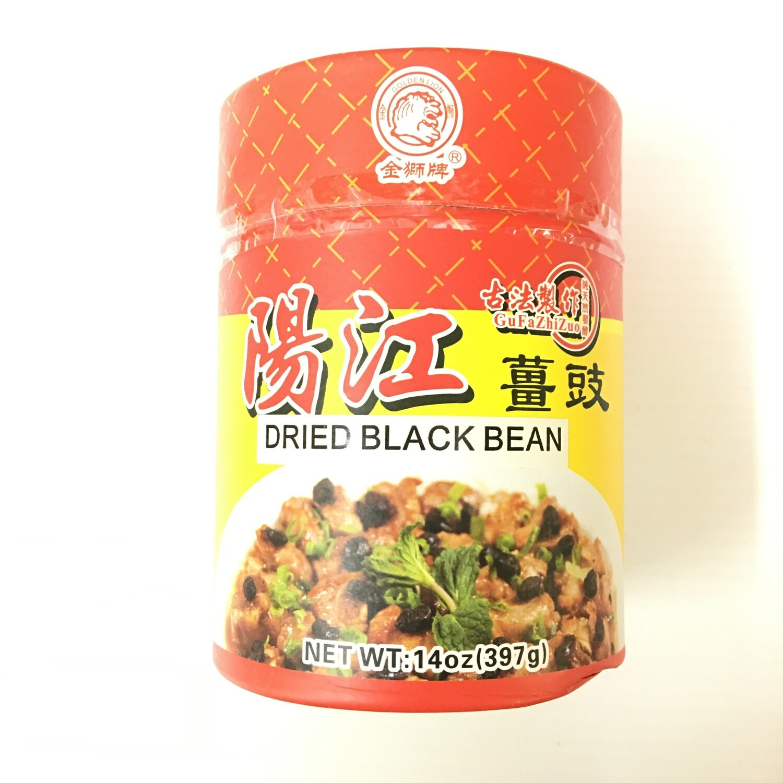 金狮牌 阳江姜豉 GOLDEN LION Dried Black Bean 14oz